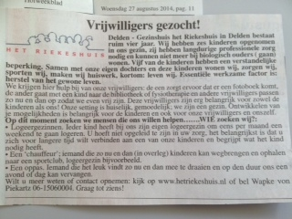 advertentie hofweekblad